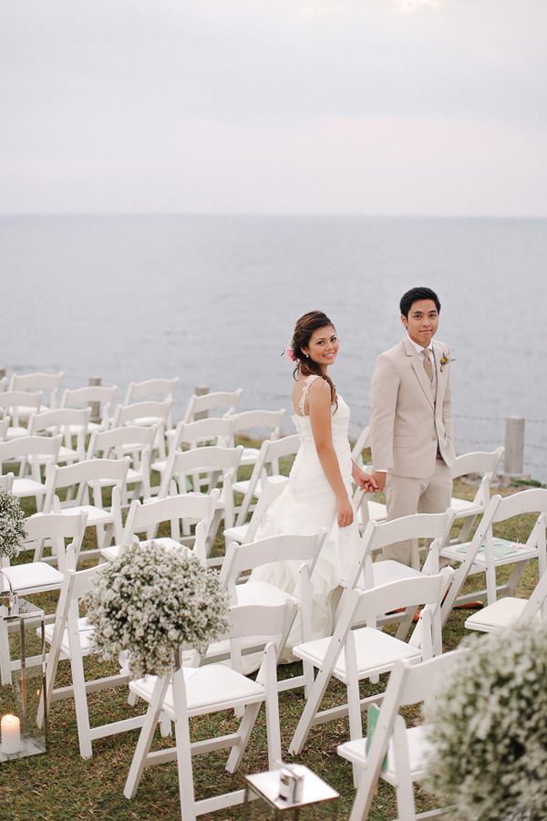 Batangas Cliff Wedding Flowers and Event Styling by Dave Sandoval